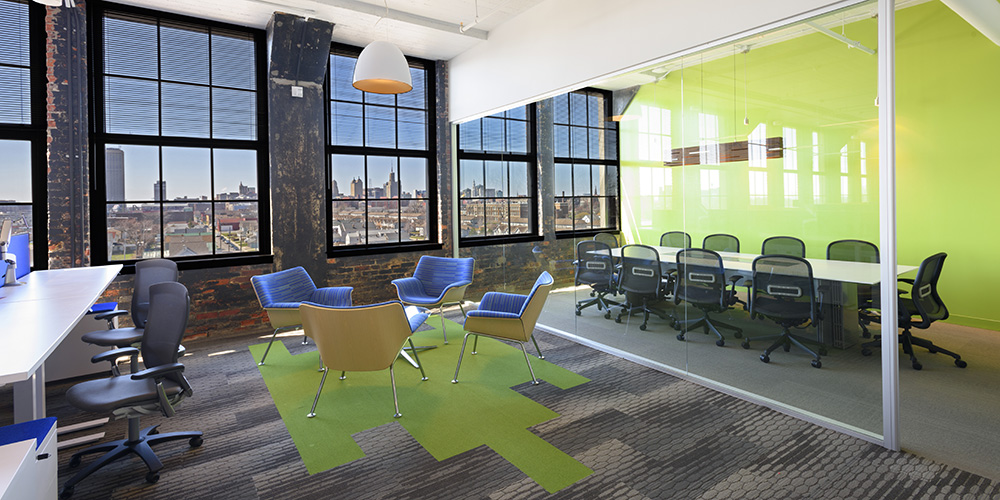 KPMG Office Renovation Buffalo, NY Historic Adaptive Reuse