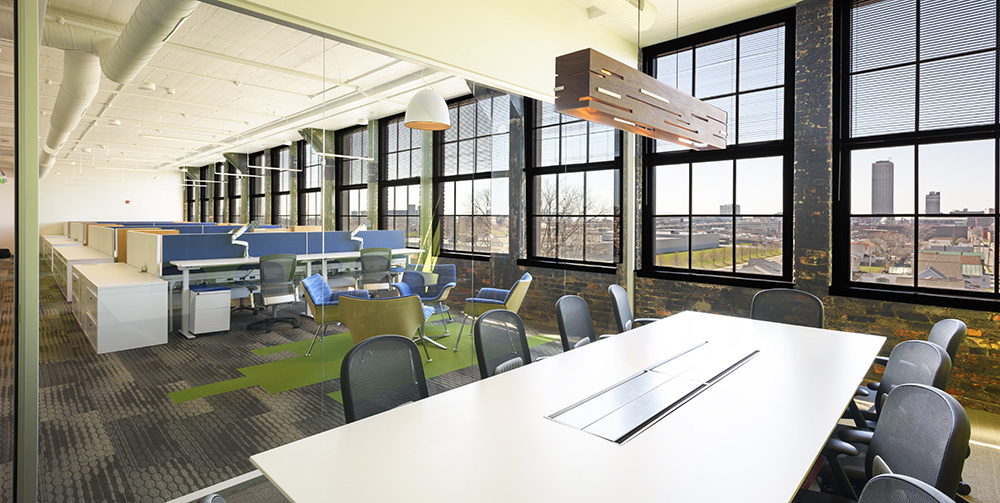 KPMG Office Renovation Buffalo, NY Historic Adaptive Reuse 5