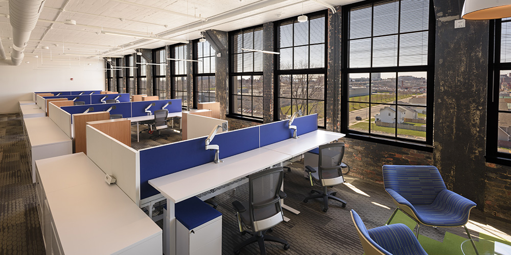 KPMG Office Renovation Buffalo, NY Historic Adaptive Reuse 3