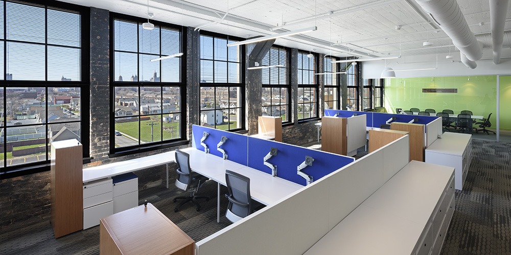 KPMG Office Renovation Buffalo, NY Historic Adaptive Reuse 1