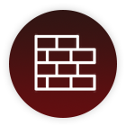 masonry bricks-icon