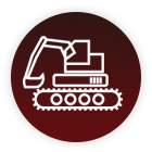Lehigh Office Maintenance Buffalo NY Bulldozer Icon
