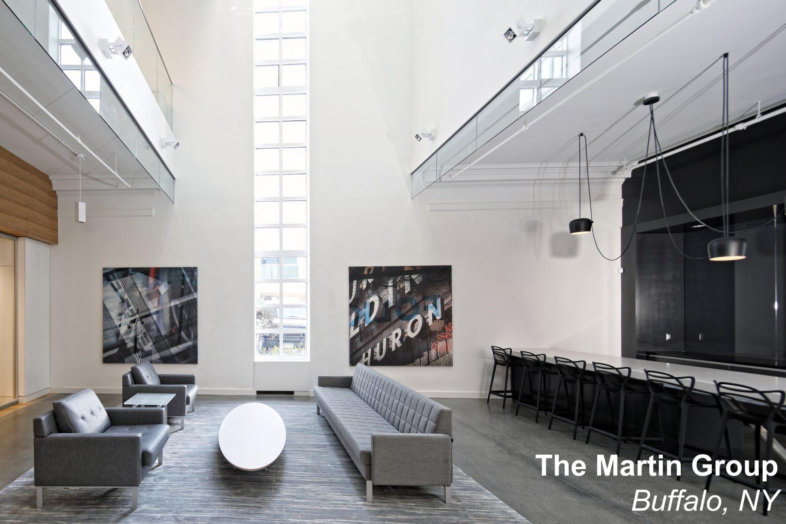 The Martin Group Office Renovation Buffalo NY 1