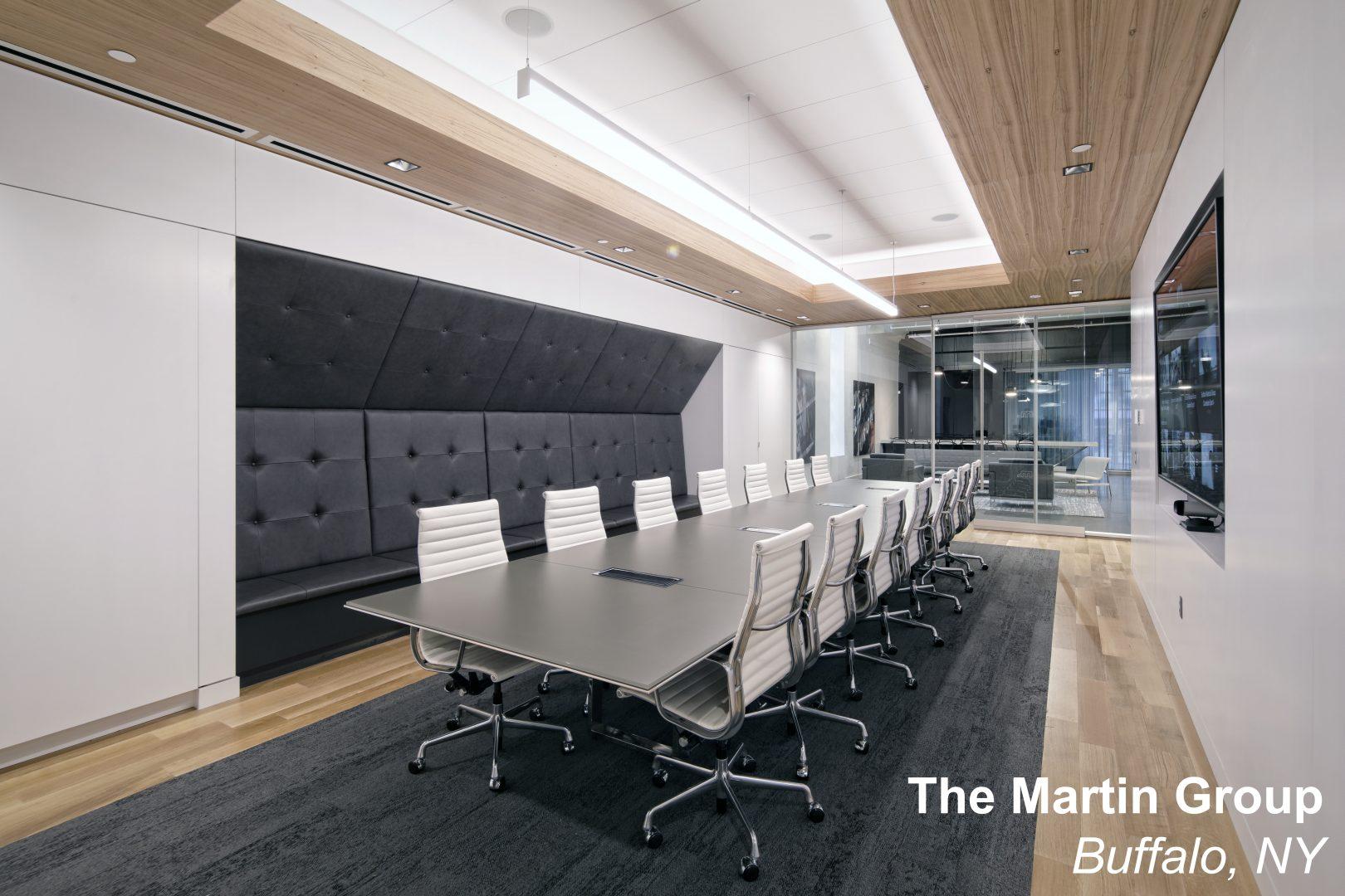 The Martin Group Office Renovation Buffalo NY