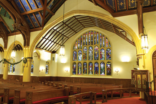 Hellenic Orthodox Church of the Annunciation Historic Renovation Buffalo NY 2