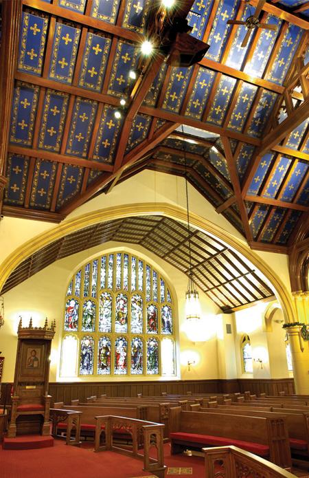 Hellenic Orthodox Church of the Annunciation Historic Renovation Buffalo NY 1