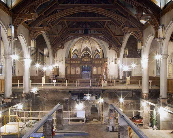 Hellenic Orthodox Church of the Annunciation Historic Renovation Buffalo NY