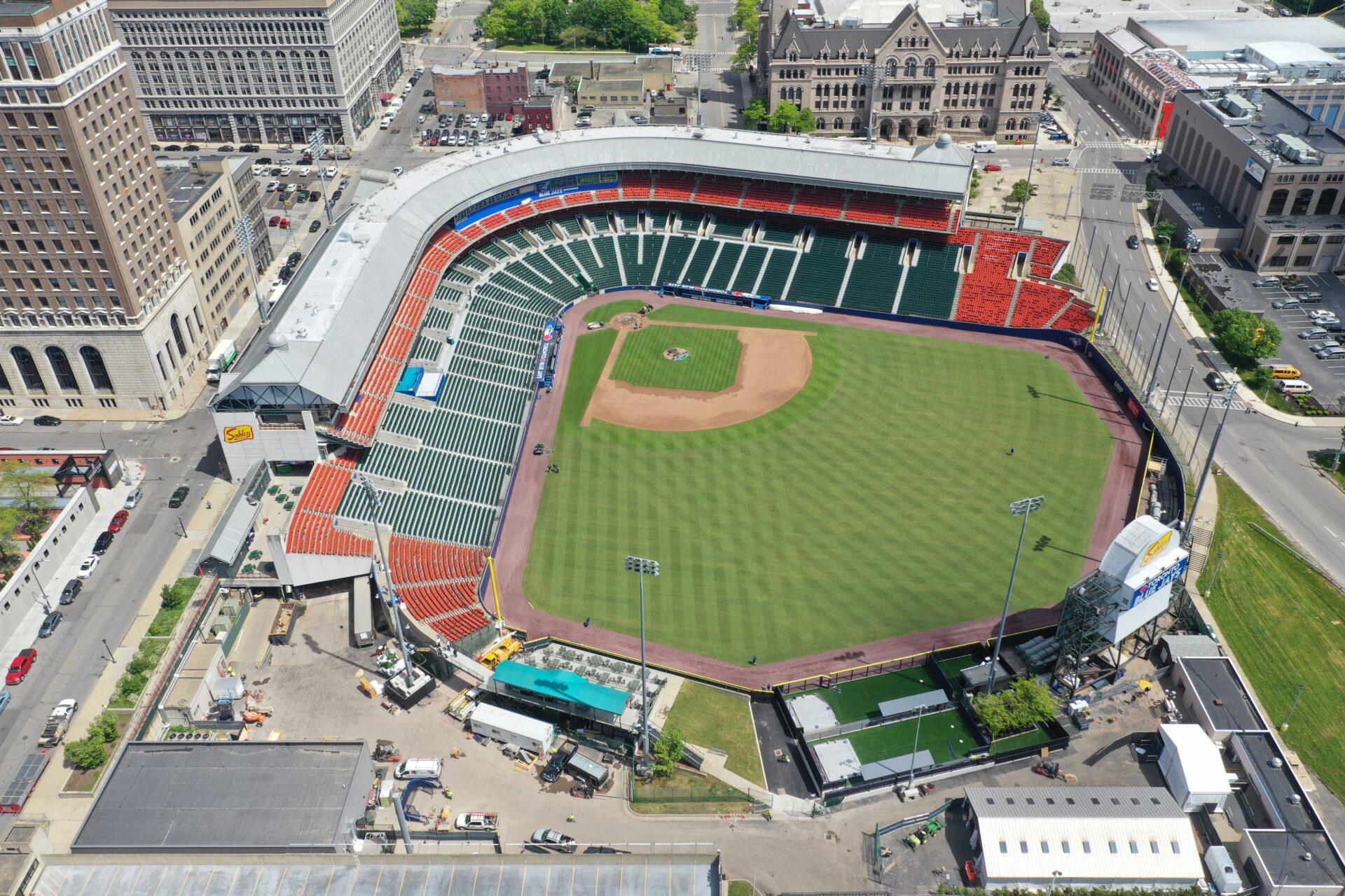 Sahlen Field Renovations Overview Buffalo, NY
